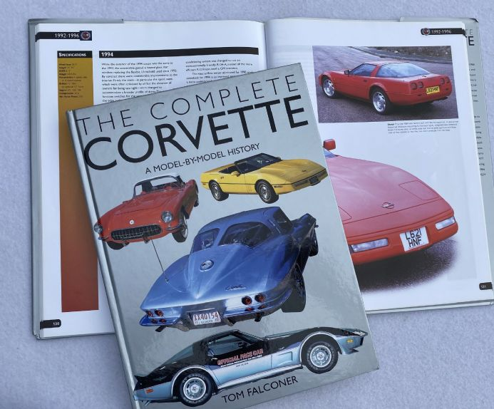 The Complete  Corvette 1953-2003 by Tom Falconer